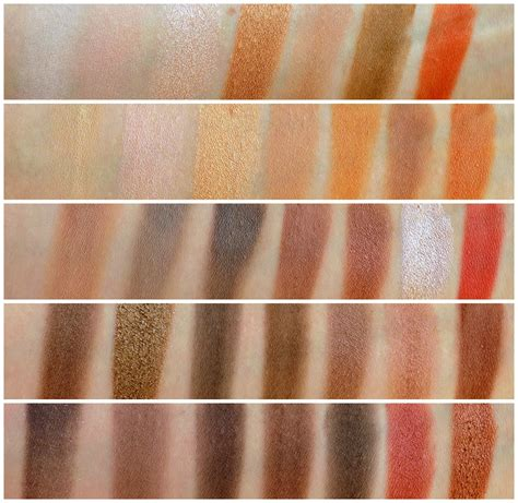 morphe brushes 35o 35 color nature glow eyeshadow palette