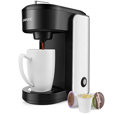 Let's see how you can proceed. CHULUX Single Serve Coffee Maker,Stainless Steel Coffee Brewer with Gradient Water Reservoir ...
