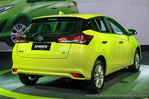 toyota yaris  significant refresh