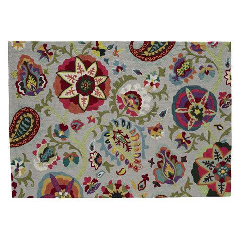 tapis multicolore 160 x 230 cm salcea maisons du monde