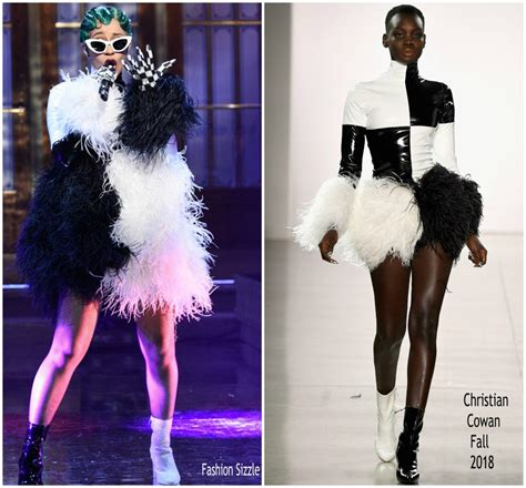 cardi b fashion performance cardi b performs on saturday night live wearing