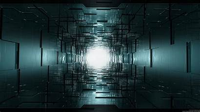 Tunnel Wallpapers Dark End Abstract Digital Rooms