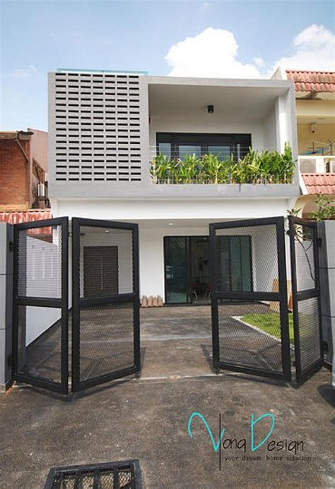 pin  fence gates pagar