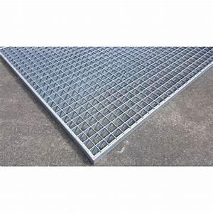 Grille Caillebotis Acier Galvanisé : grille caillebotis acier galvanis antid rapant 1200 x 1000 mm ~ Edinachiropracticcenter.com Idées de Décoration