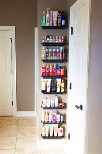 Organize overflowing bathroom beauty products with crown for Organizing my bathroom