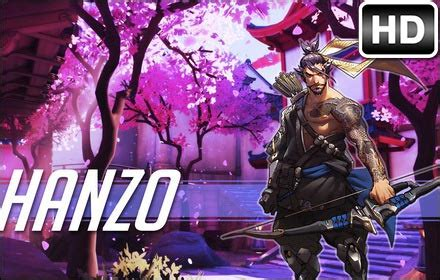 overwatch hanzo hd wallpapers  tab themes hd