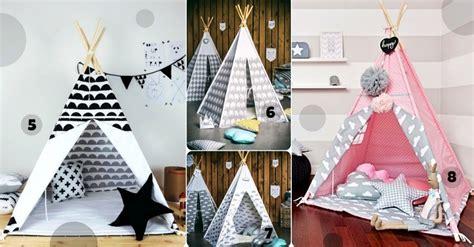 jeu de decoration de chambre tipi cabane et tente de jeu pour chambre d 39 enfant