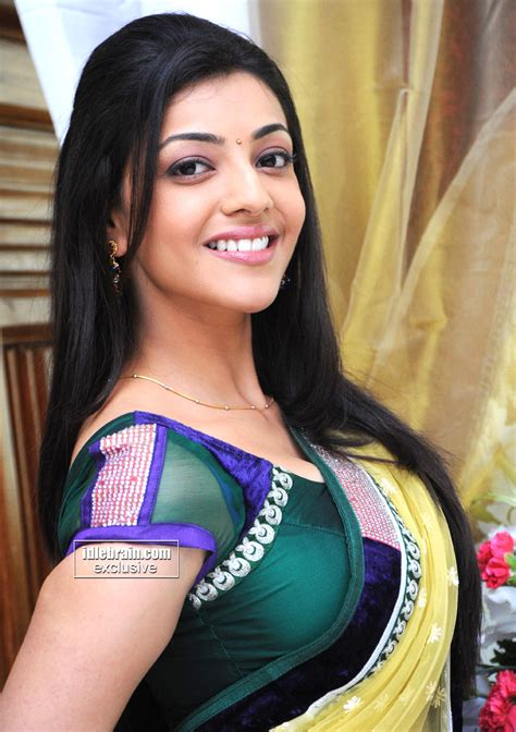 unseen tamil actress images pics hot kajal agarwal red