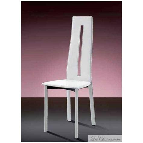 chaise blanche salle a manger chaise salle a manger blanche table blanche salle a