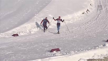 Finish Ski Russian Canadian Coach Skier Him