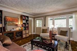 living room-Craftsman in Pasadena - Hooked on Houses