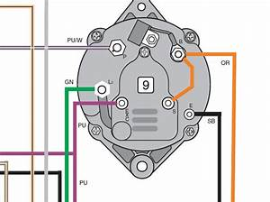 Wiring Diagram For Marine Alternator  U2013 Powerking Co