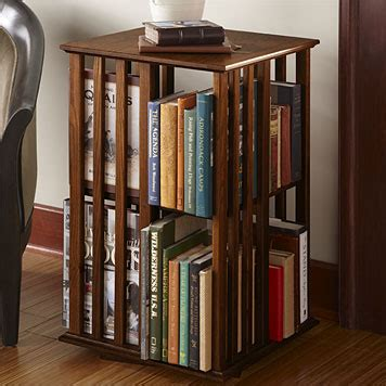 Rotating Bookcase Ikea by Revolving Bookcase Table Shaker Style Revolving Bookcase