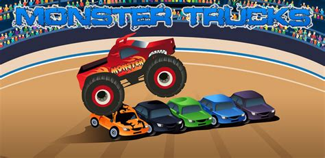 monster truck video games for kids monster trucks game for kids amazon ca appstore for android