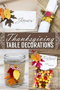 thanksgiving table decor easy festive crafts unleashed