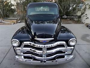 1954 Chevy 3100 Stepside Pickup Truck Indigo Blue1949 1950