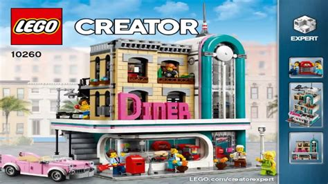lego creator expert 2018 lego creator expert 2018 downtown diner 10260