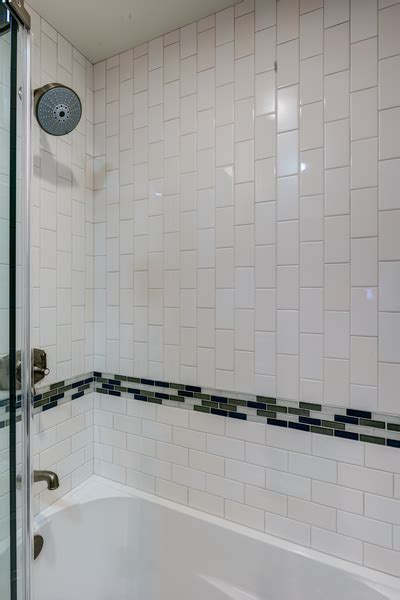 glass subway tiles for kitchen backsplash condo overhaul guest bath gilmans