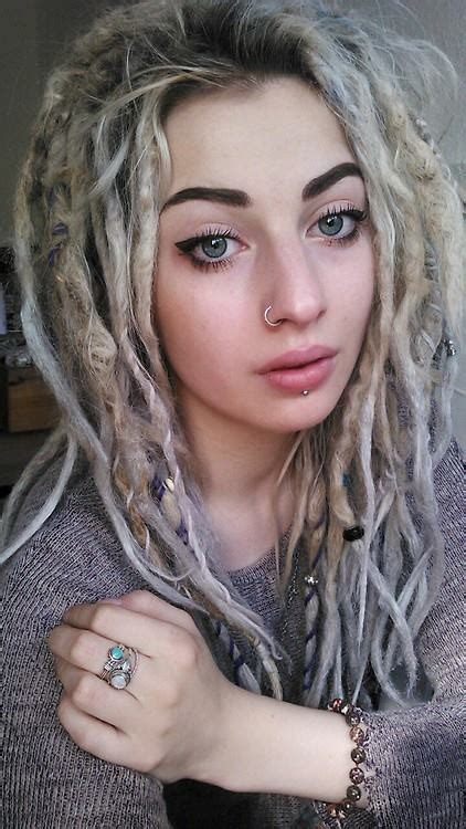 So, cool haircuts team set a target to make you shine with. White Dreads Hairstyles For White Women | Hairstylo