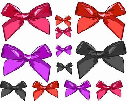 Bows Clipart Clip Various Girly Pink Domain