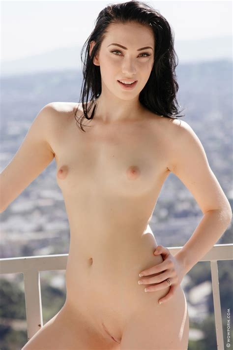 Aria Alexander Naked On The Balcony
