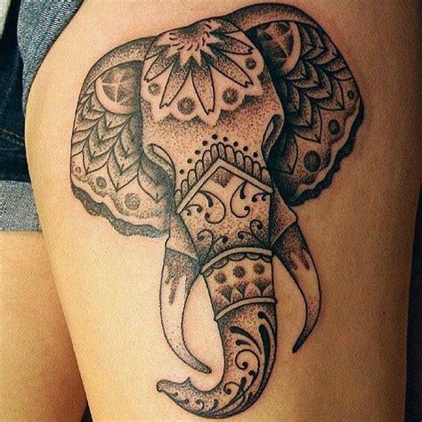 dress bali tatto fascinating themes in tribal elephant