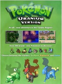 fan made pokemon uranium game features 100 new pokemon