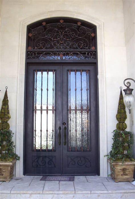 rod iron doors custom iron doors wrought iron front door co