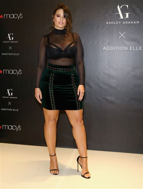 Ashley Graham Celebrated Her Latest Lingerie Launch by ...