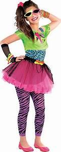Kostüm Für 80er Jahre Mottoparty : totally awesome 80er jahre geniales kost m teenie kinder kost m kinder mottoparty karneval ~ Frokenaadalensverden.com Haus und Dekorationen
