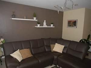 Deco Zen Salon : deco salon zen marron ~ Teatrodelosmanantiales.com Idées de Décoration