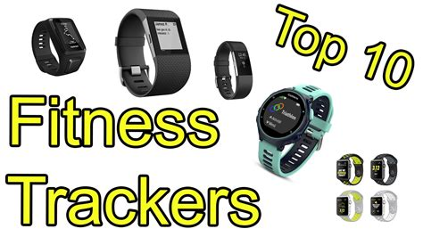 Top 10 Best Fitness Trackers Of 2017