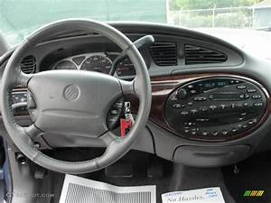 1999 Mercury Sable Ls Sedan Medium Graphite Dashboard