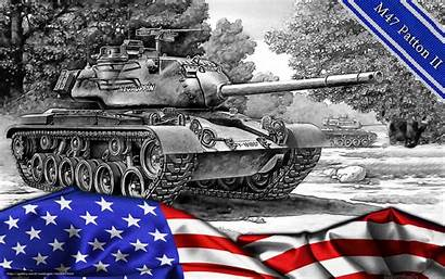 Tanks Tank American M47 Patton Wallpapers Ii