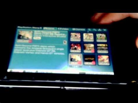 Psp-how To Get Free Games (demos) At The Playstation Store