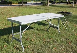 Table Camping Pliable : sobuy 8815 b buffet traiteur table camping pliable portable pour piq ~ Farleysfitness.com Idées de Décoration