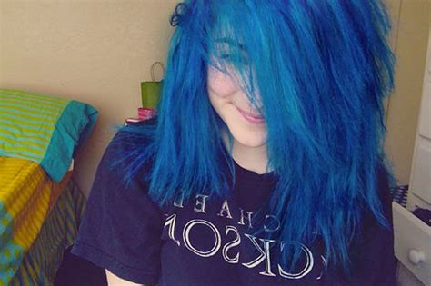 Best 25+ Bright Blue Hair Ideas On Pinterest