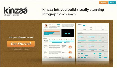 top 10 best websites to create free resume with infographics