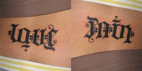 love  pain tattoo design tattoo ideas