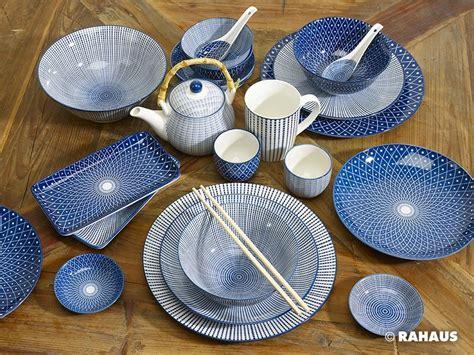 Geschirr Set Blau Weiß by Steingut Geschirr Blau H Grade Eis Knacken Glasur Keramik