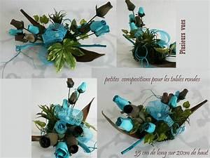 Centre De Table Chocolat : decoration mariage bleu turquoise et chocolat id es et d ~ Zukunftsfamilie.com Idées de Décoration