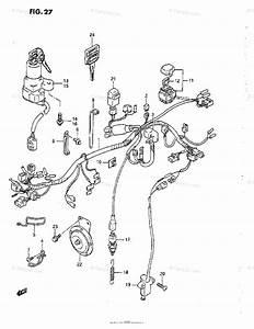 Suzuki Motorcycle 1993 Oem Parts Diagram For Wiring