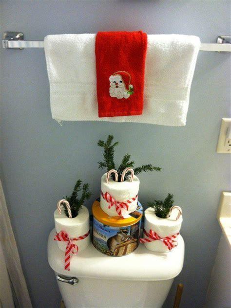 christmas bathroom decor ideas  pinterest