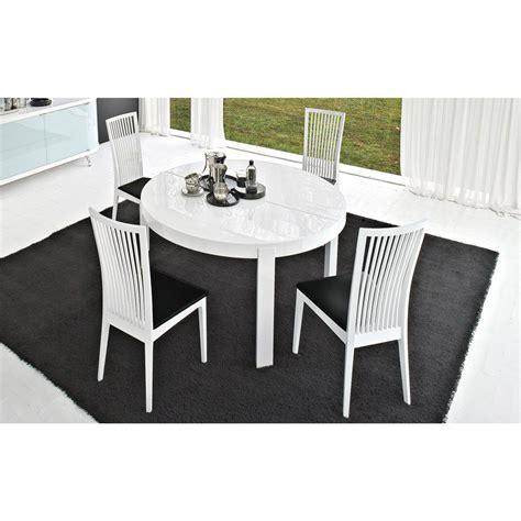 set de bureau design table de repas ronde extensible atelier meubles et