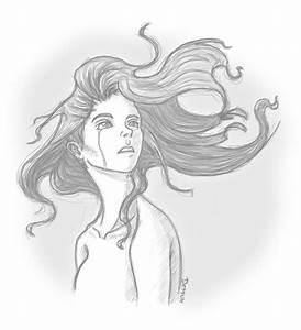 Sad Girl Sketches Tumblr Easy Pencil Drawings Of Girls ...