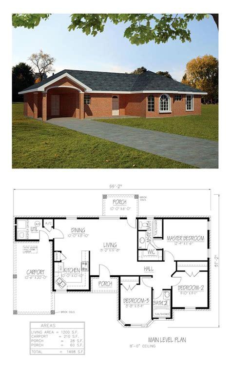 southwest house plans images  pinterest