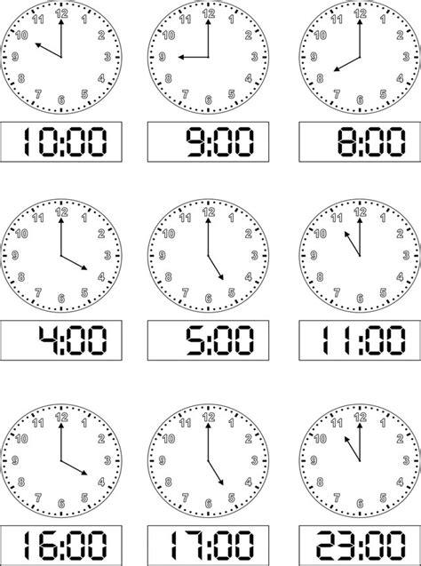 idee di impara orologio schede didattiche