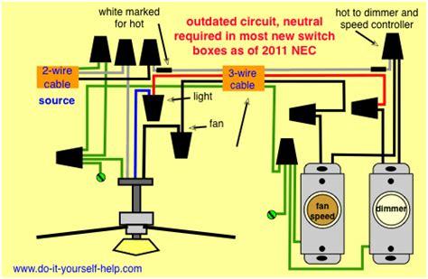 Ceiling Fan Light Kit Wiring Diagram Maintenance