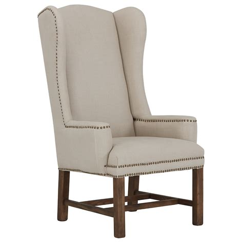 city furniture haddie beige upholstered arm chair