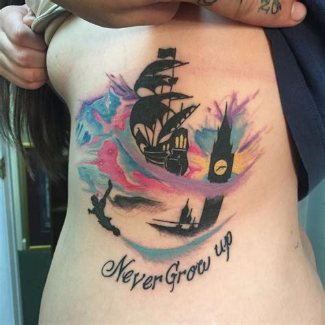 pan tattoos tattoos tattoos disney tattoos disney sleeve tattoos